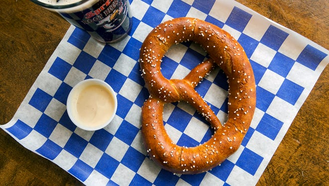 "A match made in heaven? York City Pretzel Company will be bringing an event series that pairs pretzels and beer, the ""perfect match"" according to YCPC owner Philip Given."