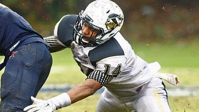 Pat Walker, an outside linebacker who just committed, will enter Austin Peay as a sophomore.