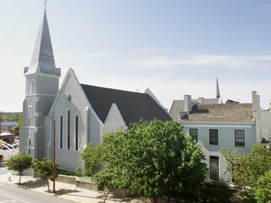 St. John's Episcopal Church in downtown Lafayette was