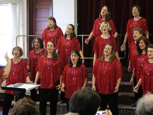 Franklin (Somerset): Jersey Harmony Chorus invites women who love to sing to free vocal workshops PHOTO CAPTION
