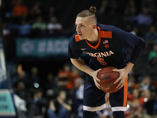 Virginia Cavaliers guard Kyle Guy
