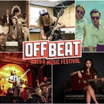 The Off Beat Arts & Music Festival is a four-day arts and music festival in Reno from Nov. 5-8 featuring 90bands, DJs and singer songwriters at 12 different venues.