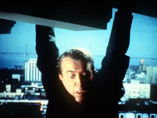 James Stewart stars in 'Vertigo.'