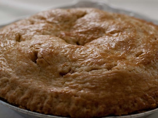 Elsie May's apple pie from Papa C Pies in Cool Springs