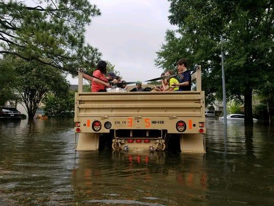 EPA USA WEATHER HURRICANE HARVEY WEA FLOOD WEATHER USA TX