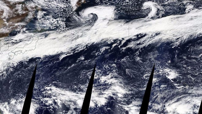 An atmospheric river that stretches from Asia to North America will pelt the Northwest with rain and snow.