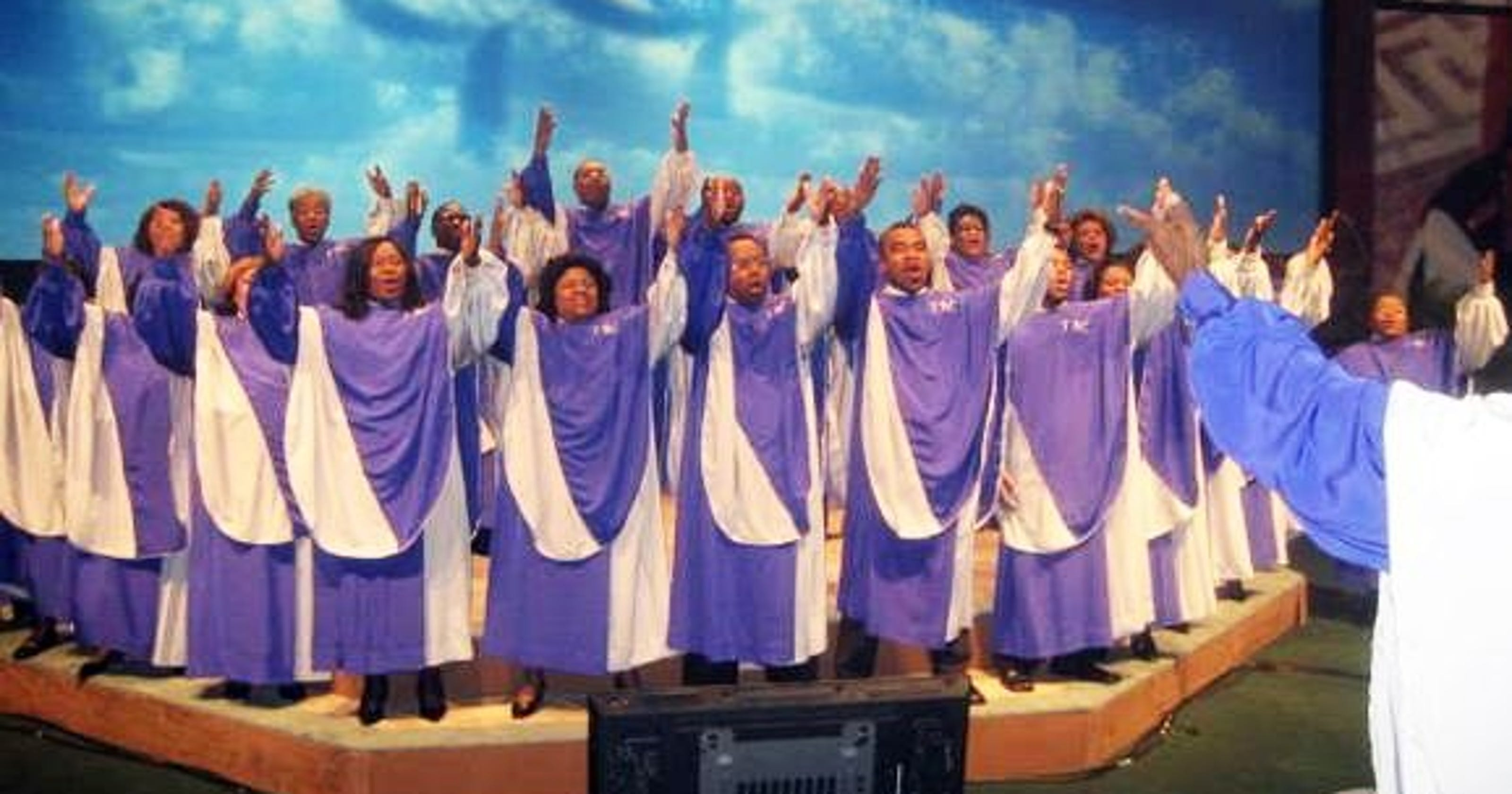 The Tennessee Mass Choir is performing in Memphis Saturday