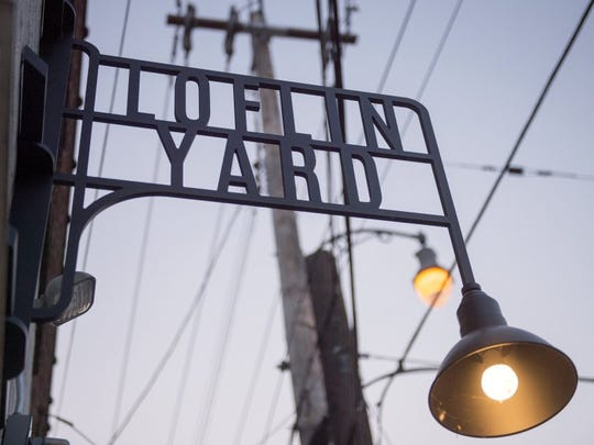 Loflin Yard bar and restaurant is located at the corner