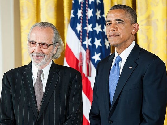 Herb Alpert received the National Medal of the Arts from President Obama in 2013.