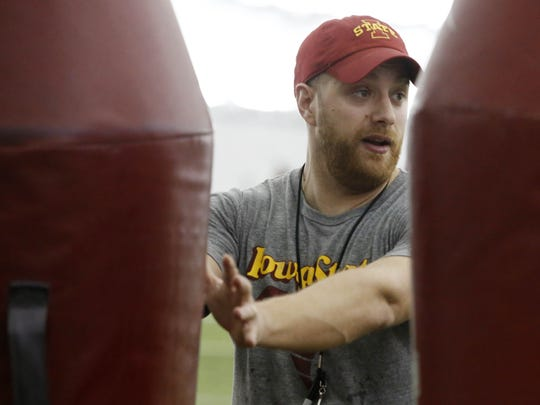 Iowa State offensive coordinator Tom Manning signed a contract worth $1.3 million over two years