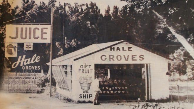 Original roadside stand circa 1947.