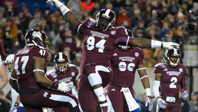 Mississippi State defensive lineman Nelson Adams gets the opportunity to play alongside his brother this fall.