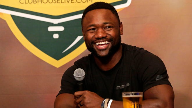 Green Bay Packers wide receiver Ty Montgomery co-hosts Clubhouse Live on Monday in Appleton. Watch a replay of the show at clubhouselive.com.