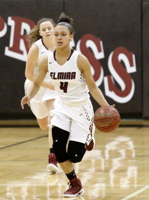 Elmira freshman point guard Kiara Fisher will be one of the top players to watch in the Josh Palmer tournament.