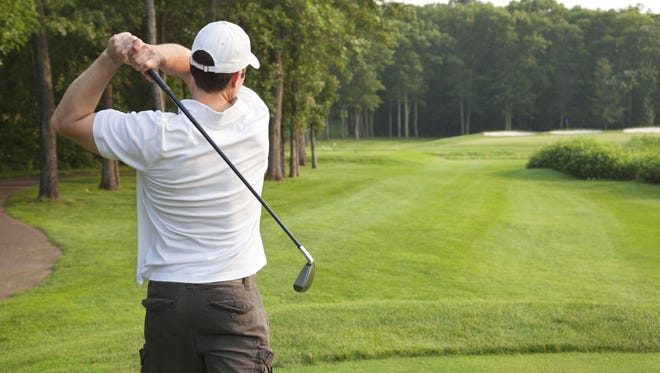 Golf professionals work out to build their strength and flexibility into the mechanics of the golf swing.