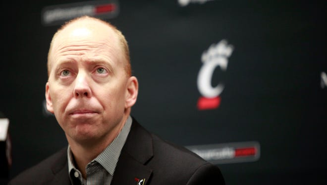 Mick Cronin announced at a press conference on Jan. 2 that he will stay with his UC basketball team in an advisory role for the remainder of the 2014-2015 season so he can focus on recovery and treatment for an arterial dissection.