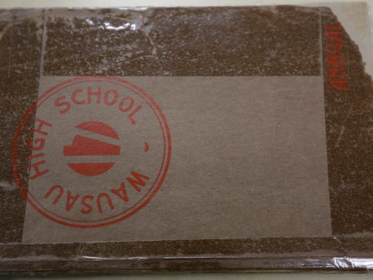 The first yearbook edition of Wausau East High School in 1917.
