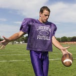 Lakeview's Jake Herbers was an All-State kicker for the Spartans and will play football at University of Minnesota.
