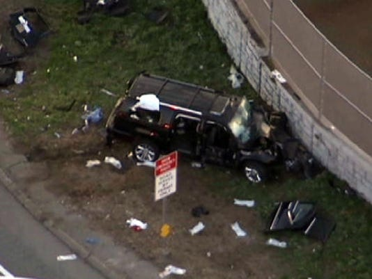 I-95 Bronx van crash