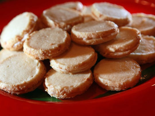 Almond Buttercreams, the 2009 winner of the Journal Sentinel Holiday Cookie Contest.