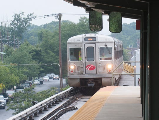 The PATCO Hi-Speedline operates between Lindenwold