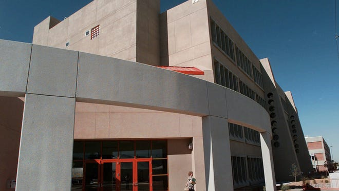 A recent report found that one factor behind cronyism in New Mexico is the large amount of federal and state money involved in the state's economic activities. The largest employers in the state are government or government-supported institutions, such as the Sandia National Laboratory, pictured in 1997.