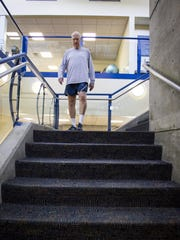 Retired U.S. Air Force Senior Master Sergeant, Steve Sullivan has taken matters into his own hands to improve his cardiovascular health. The 71 year old climbs an average of 25,000 steps per day.