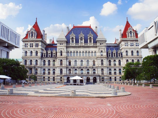 New York State Capitol in Albany
