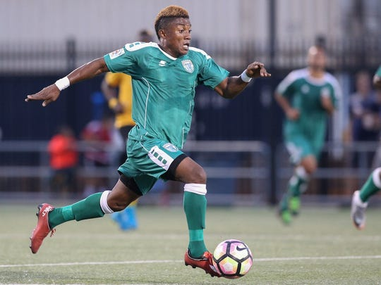 Before starring at the University of Maryland, Rhinos midfielder Christiano Francois, 24, became a top college prospect playing high school soccer for St. Benedict, a state power in New Jersey.