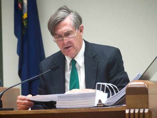 Jonathan Leopold, a former trustee for Burlington College and former chief administrative officer for the city of Burlington, is pictured Wednesday March 5, 2014.