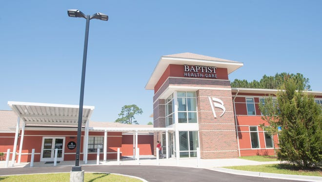Baptist Medical Park in Pace is seen on Tuesday, May 16, 2017.