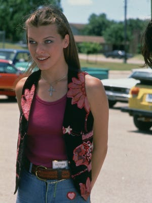 """Milla Jovovich plays Michelle in 'Dazed and Confused'"""" (1993)."""