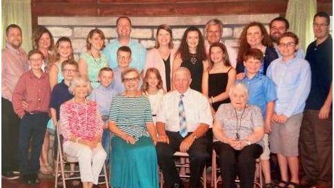 For five generations, the Jerry Theobald family has supported the 4-H program. The family was honored by the Illinois 4-H Foundation with the 2020 Family Spirit Award.
