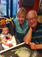 First grandchild We caught up with Cindy and John Fehrenbacher