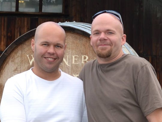 Brandon Hufnagel, left, and Matt Wink are the new owners