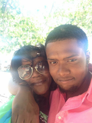 Alicia Jackson and her son Darrius Jackson-Paul, who