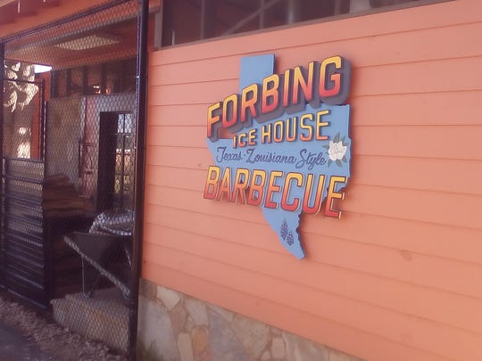 Forbing Ice House will serve Texas-Louisiana Barbecue.