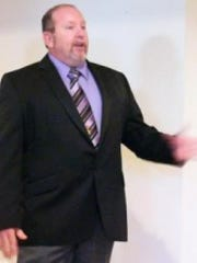 Shawn Quinn, Libertarian candidate for governor.