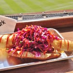 Champions Alley Dog from Kauffman Stadium