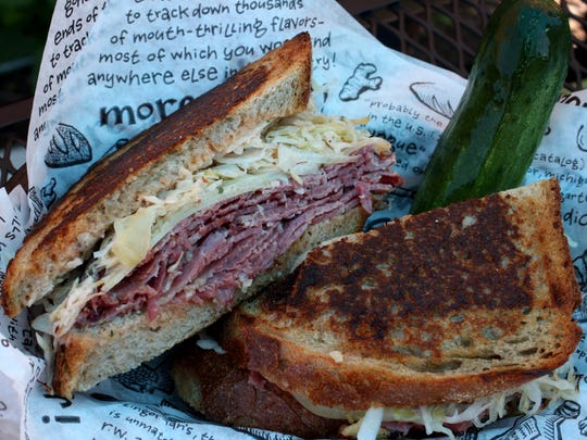 Zingerman's Reuben at Zingerman's Deli in Ann Arbor
