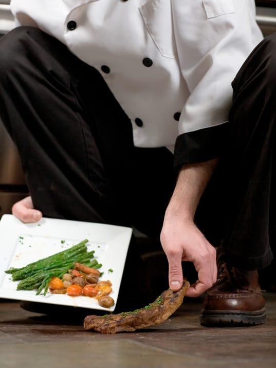 Inspecting for sanitation in restaurants