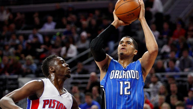 Tobias Harris played in parts of four seasons with the Orlando Magic.