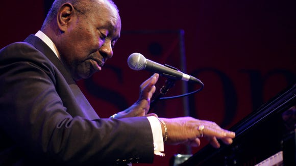 Freddy Cole, brother of legendary Nat King Cole, performs at the Avo Session in Basle, Switzerland in 2006.