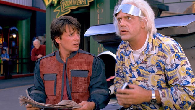"Both Georgetown and Newark will hold ""Back to the Future Day"" celebrations Wednesday."