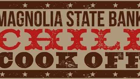 Magnolia State Bank will hold a chili cook-off from 10 a.m.-2 p.m. Feb. 11 at downtown Laurel.