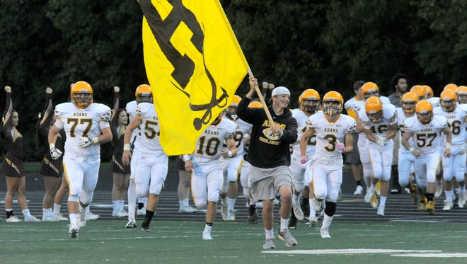 Rochester Adams is host to Stoney Creek this week.