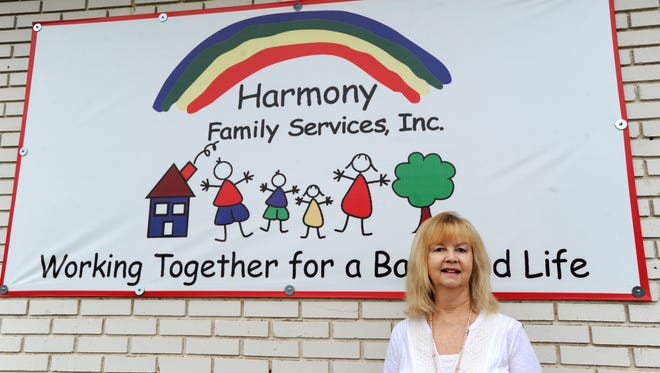 Jamie Breed is executive director of Harmony Family Services, which is celebrating its 50th anniversary this year.