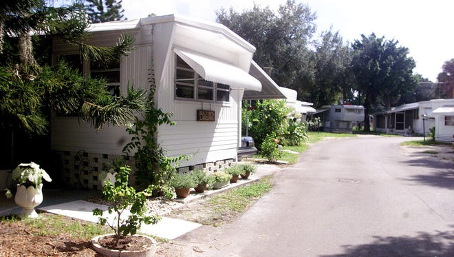A 2003 file photo of the Bamboo Village trailer court in Bonita Springs. The city purchased the property --which straddles the Imperial River on old US 41--for $2.6 million.