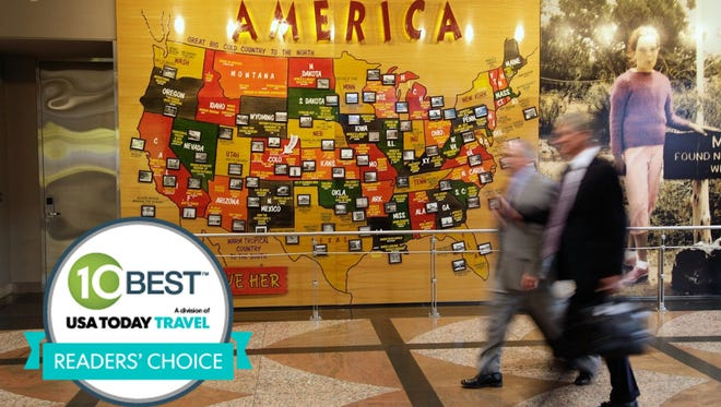 Denver International was voted best airport for art by 10Best.com and USA TODAY readers.