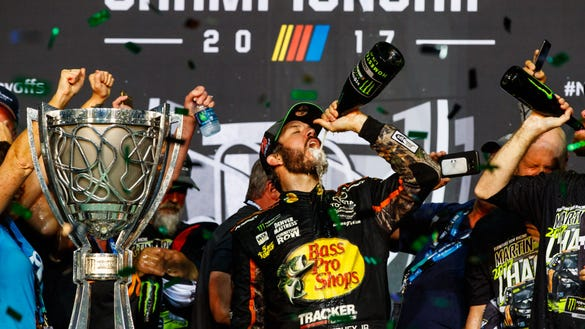 Why defending NASCAR champ Martin Truex Jr. loves being like his Philadelphia Eagles